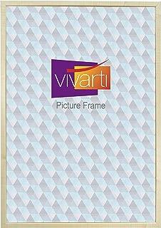 Vivarti Thin Maple Natural Finish Picture Frame, 60 x 80 cm,