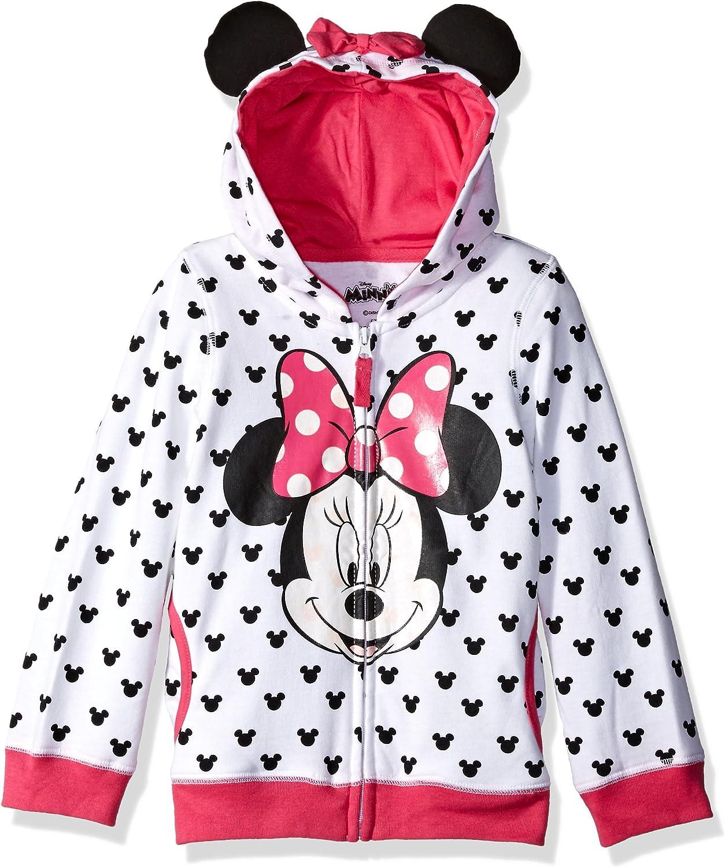 Disney Girls Minnie Mouse Sweatshirt Size 4 Multicolored