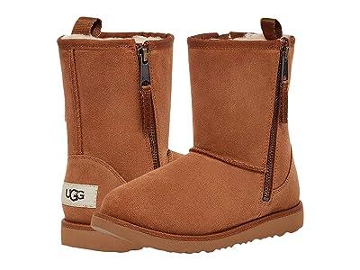 UGG Kids Classic Dual Zip Boot (Toddler/Little Kid/Big Kid) Kids Shoes