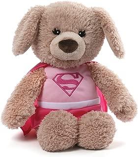 GUND DC Comics Supergirl Yvette Dog Stuffed Animal Plush, Pink, 12