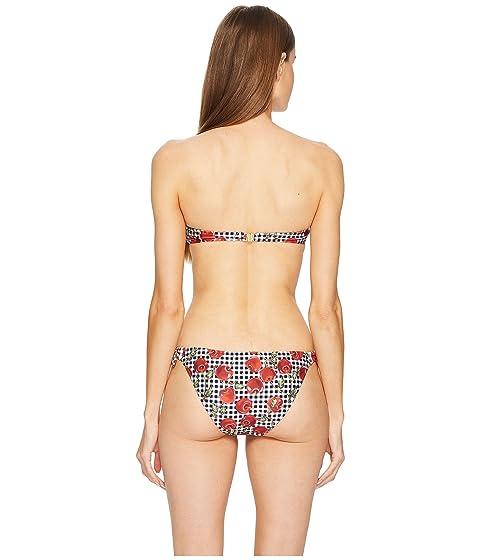 Estampado Bandeau Bandeau Negro Moschino Bikini UgwYTxAnqw