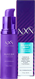 NxN Oil Control Moisturizer, with Watermelon, Rosehip, Apple & Lentil Fruit Extracts for oily/combination skin, 1oz