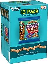 Keebler Scooby-Doo! Cinnamon Baked Graham Cracker Sticks, 12-1 oz (Pack of 5)