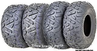 Set of 4 WANDA ATV Tires 19X7-8 Front & 22X10-10 4PR Rear Big Horn Style