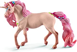 SCHLEICH bayala Decorated Unicorn Mare Imaginative Toy for Kids Ages 5-12