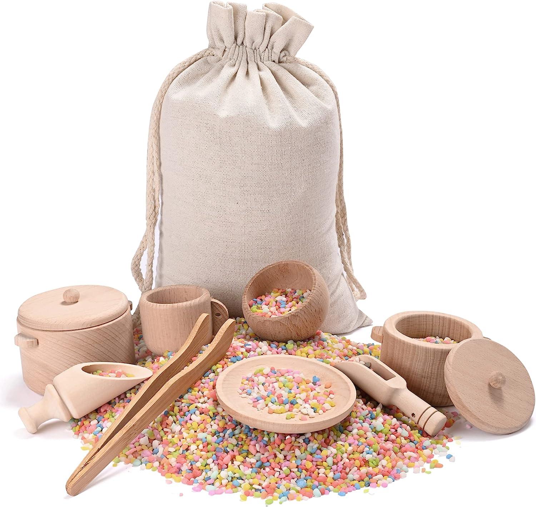 service MONT PLEASANT Sensory Bin Toys Montessori Wal Max 43% OFF Toddlers for