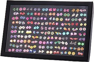 comprar comparacion Remebe Pendientes Hipoalergénicos para Niñas, 100 Pares Color Mezclado Cerámica Suave Hecho a Mano Pendientes