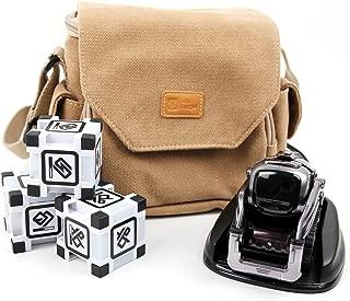 DURAGADGET Light Brown Medium Sized Canvas Carry Bag - Suitable for The Anki Cozmo & Anki Vector
