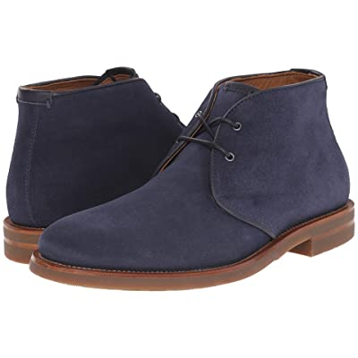 Aquatalia Carlos (Blue Suede/Gum Bottom) Men