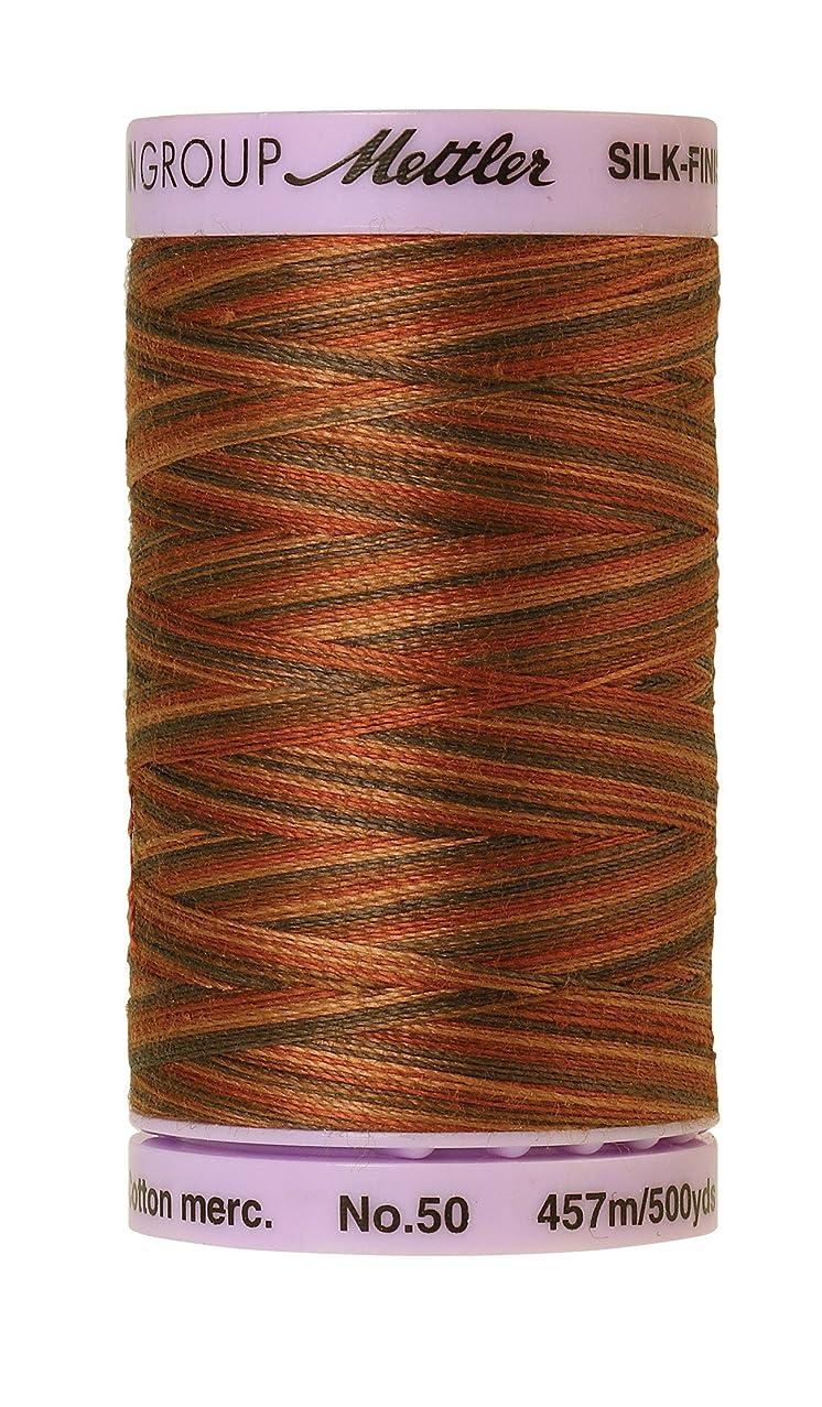 Mettler Silk-Finish Variegated Cotton Thread, 500 yd/475m, Chocolate