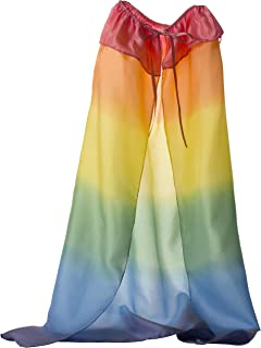 Sarah's Silks Silk Capes Heavy Weight Silk Capes Available in Rainbow and Starry Night