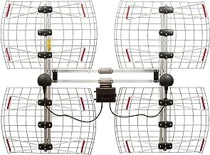 Antennas Direct 8-Element Bowtie TV Antenna, 70 Miles Range, Multi-directional, Indoor,..