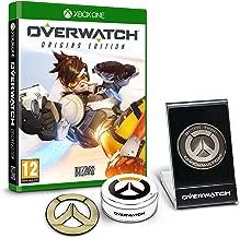 Overwatch Origins Edition - 'Memory of War' Metal Coin & Metal Badge Bundle (Exclusive to Amazon.co.uk) (Xbox One)