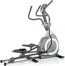 Kettler Unisex Axos P Premium Motorized Front Wheel Elliptical Cycle, Light/Dark Grey/Yellow