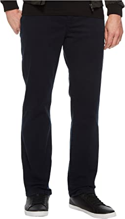 Relaxed Straight Stretch Denim Jeans in Total Eclipse