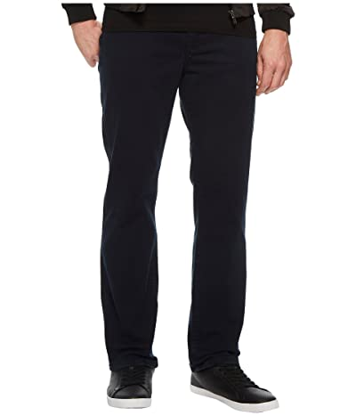 Liverpool Relaxed Straight Stretch Denim Jeans in Total Eclipse (Total Eclipse) Men