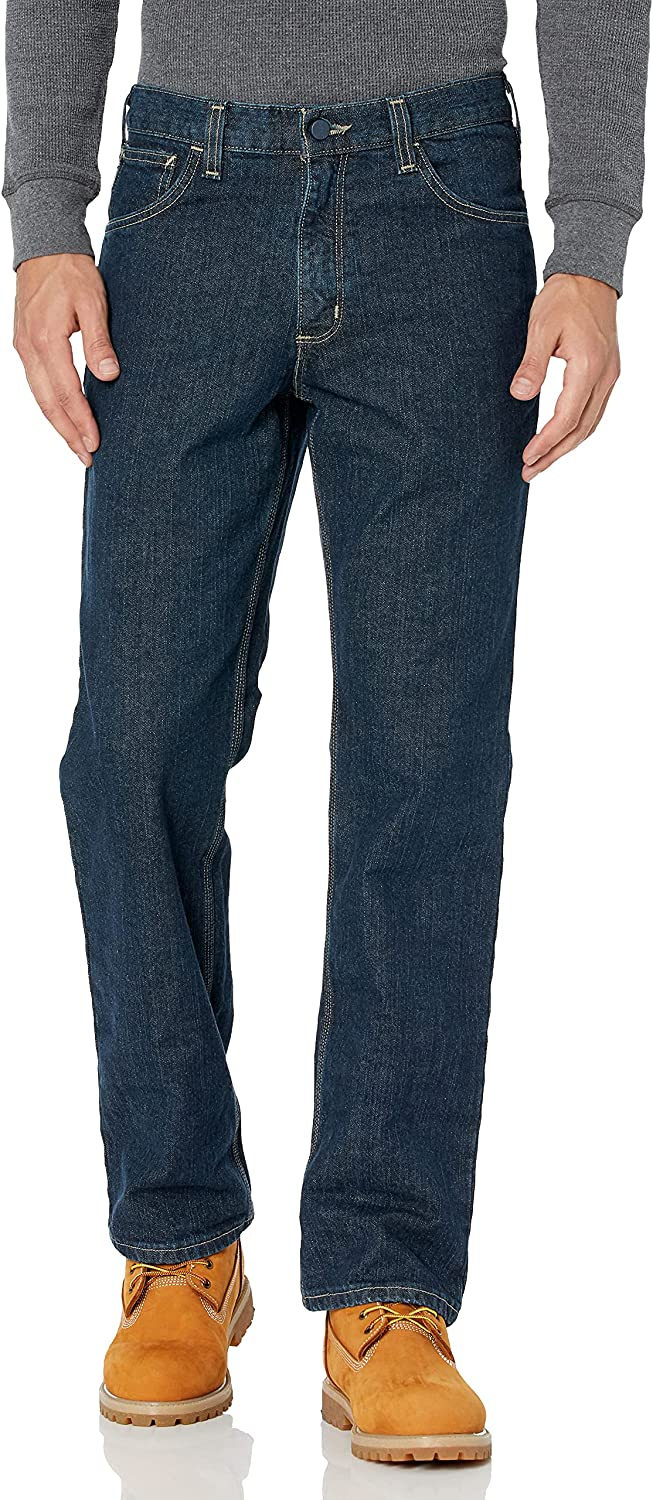 Carhartt free Men's Flame-Resistant Rugged Jean Flex Straight Fit Many popular brands