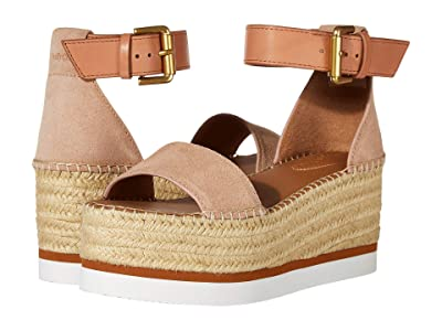 See by Chloe SB32201A (Crosta Cipria/Natural Calf Sierra) Women