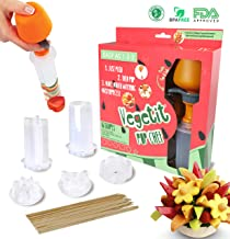 Fruit and Vegetable Shape Cutter - Fruit Decorating Tools - Fruit Slicer Set - Pop Chef Fruit Cutter - Cookie Decorating tools - for Party Birthday - Men and Women