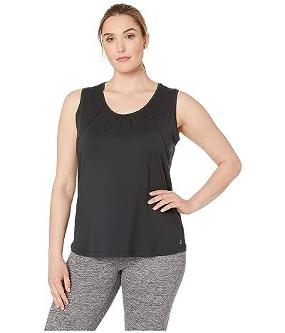 Skirt Sports Plus Size Breakaway Tank Top (Black) Women