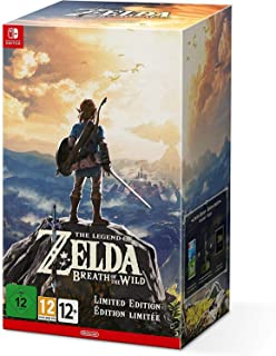 2017 Nintendo Switch The Legend of Zelda: Breath of the Wild Limited Edition