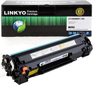 Best LINKYO Compatible Toner Cartridge Replacement for Canon 125 3484B001AA (Black) Review