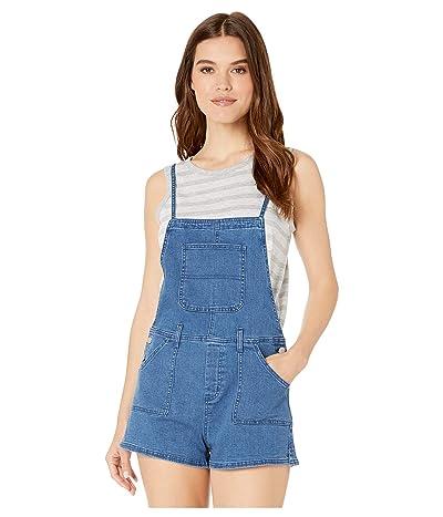 BB Dakota Good Jeans Romper (Medium Blue) Women