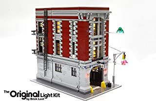 Brick Loot Lighting Kit for Your Lego Ghostbusters Firehouse Headquarters Set 75827 (Lego Set NOT Included)