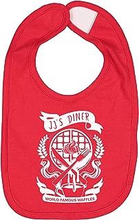 JJ's Diner Parks and Rec Unisex Baby Bib