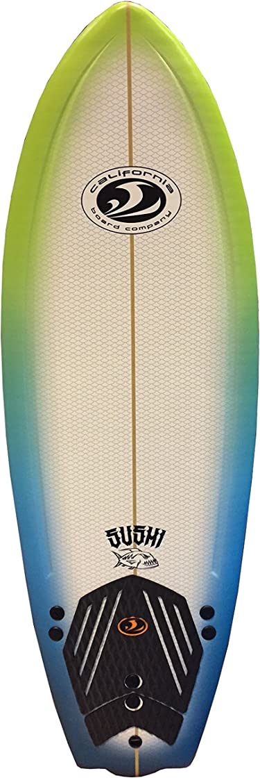 Tavola surf softboard unisex-adulto, multicolore cbc 5`8`` B0072WME3K