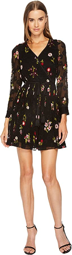 Kate Spade New York - In Bloom Chiffon Mini Dress