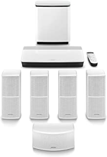 Bose LIFESTYLE 600 SYSTEM WHT APAC Lifestyle 600 home entertainment system - White