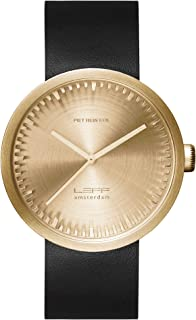 LEFF amsterdam D42 Quartz Watch Stainless Steel 42mm Gold Case