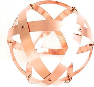 Genesa Crystal, Purificatore energia,barre da 1.5 cm 16 cm diametro, Rame Purissimo