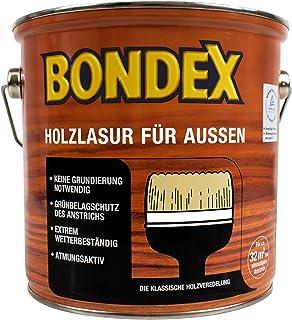 Bondex Holzlasur für Außen Ebenholz 2,50 l - 329667