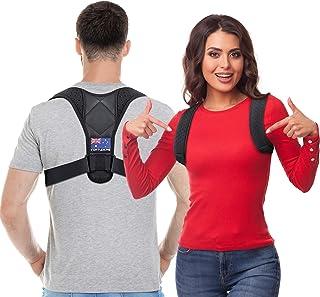 Posture Corrector for Men and Women - Australian Designed - Back Brace For Clavicle Support, Adjustable Shoulder Brace and...