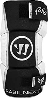 Warrior Youth Rabil Next Arm Pad, Black, Large