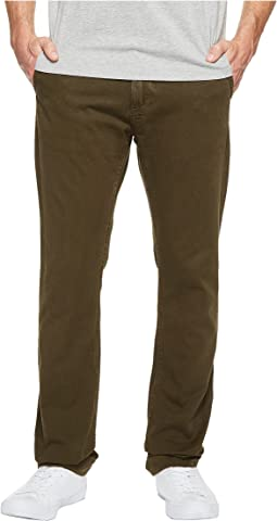 Leon Selvedge Twill Slim Fit in Forest
