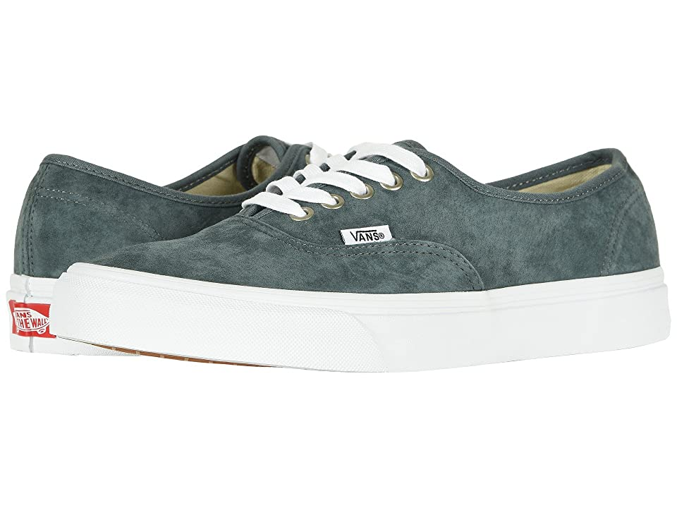 Vans Authentictm ((Pig Suede) Stormy Weather/True White) Skate Shoes