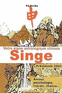 Votre signe astrologique chinois 2002 : singe