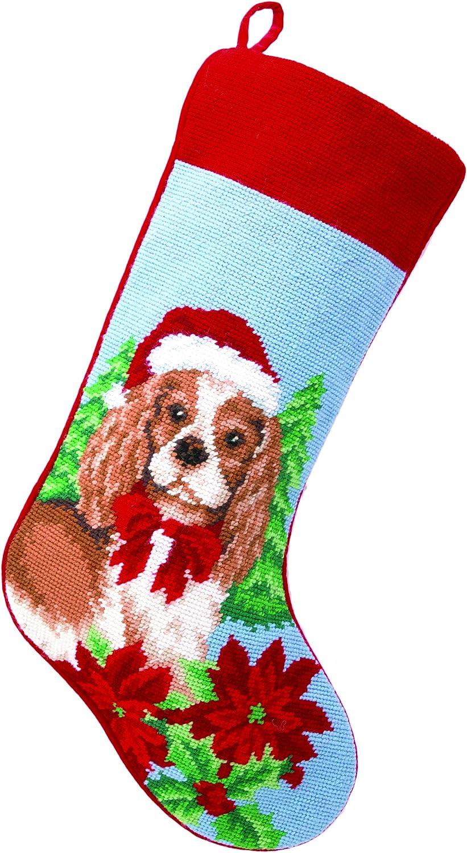 Peking Handicraft 31TA1292MC Sale item Cocker Wool Free shipping on posting reviews Spaniel Needlepoint Dog