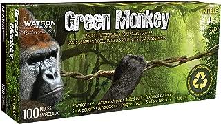 Green Monkey Biodegradable Disposable Gloves - Watson Gloves (Medium)