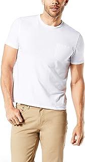 Dockers Men's Crewneck Pocket Short Sleeve T-Shirt