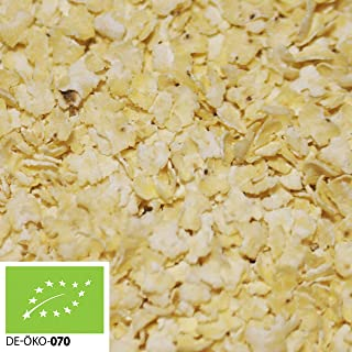 12,99€ 12,99€ pro 1kg 1000g Bio Hirseflocken aus Europa in stabilem Papiersack verpackt Plastikfrei | 1 kg |  Großpackung  100% Natur | hochwertiges Naturprodukt | STAYUNG - DE-ÖKO-070