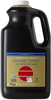San-J Organic Tamari Gluten Free Soy Sauce Non-GMO,  Gold Label, 64 Ounce