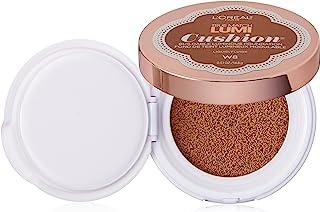L'Oréal Paris True Match Lumi Cushion Foundation, W8 Creme Cafe, 0.51 oz.