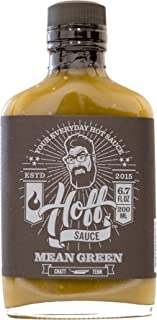 Mean Green - Hoff's Green Jalapeno Hot Sauce - 6.7oz
