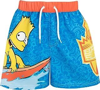 bart simpson swimming shorts
