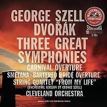 Dvorak: Three Great Symphonies, Nos. 7, 8 & 9, Carnival Overture / Smetana: Bartered Bride Overture / String Quartet