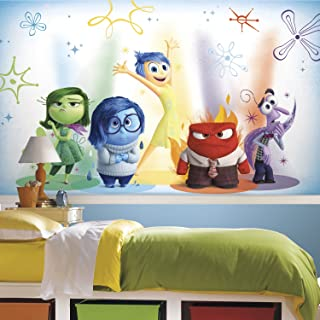 RoomMates Inside Out Removable Wall Mural - 10.5 feet X 6 feet
